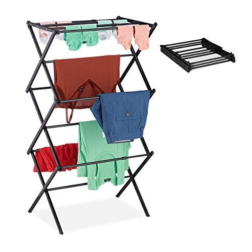 Verschiedene Produktbeschaffenheiten - Der Turmwäscheständer 10027905_46 von Relaxdays
