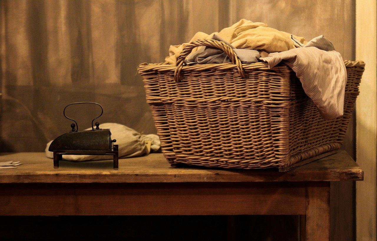 Wäscheklammer-Leine